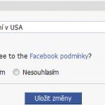 FB App - založení